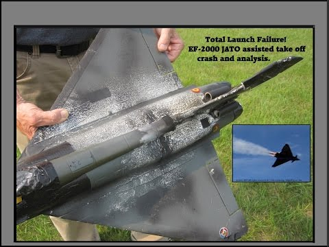Launch Failure! Eurofighter Typhoon's JATO Launch with post crash analysis. My only Firework, today!