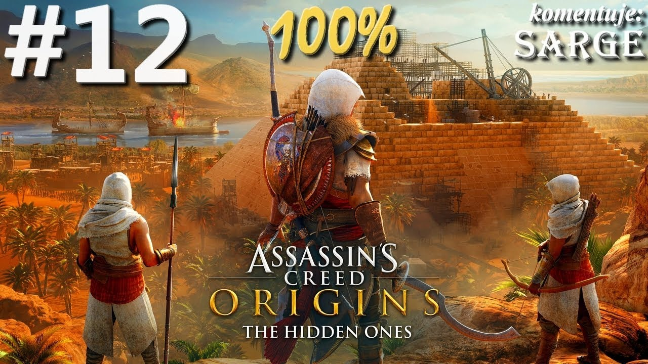 Zagrajmy w Assassin's Creed Origins: The Hidden Ones DLC (100%) odc. 12 – KONIEC DLC NA 100%