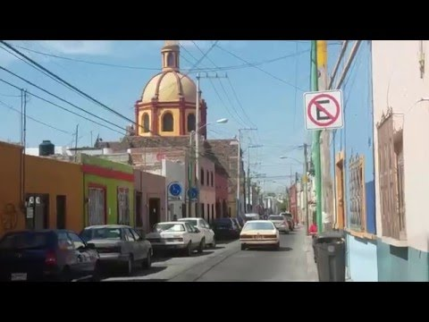 Querétaro downtown, from the University till Caja gonzalo Vega