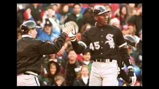 Michael Jordan baseball PY