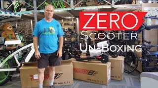 Unboxing a Zero 9 and How to Set Up Your New Scooter | Ride the Glide - Ride Electrified