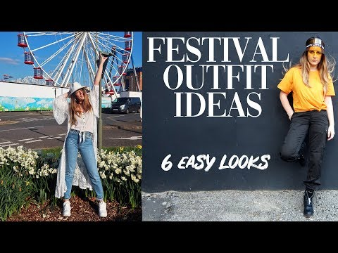 Lookbook Festival Outfit Ideas | COACHELLA | Festivals Tips 2019