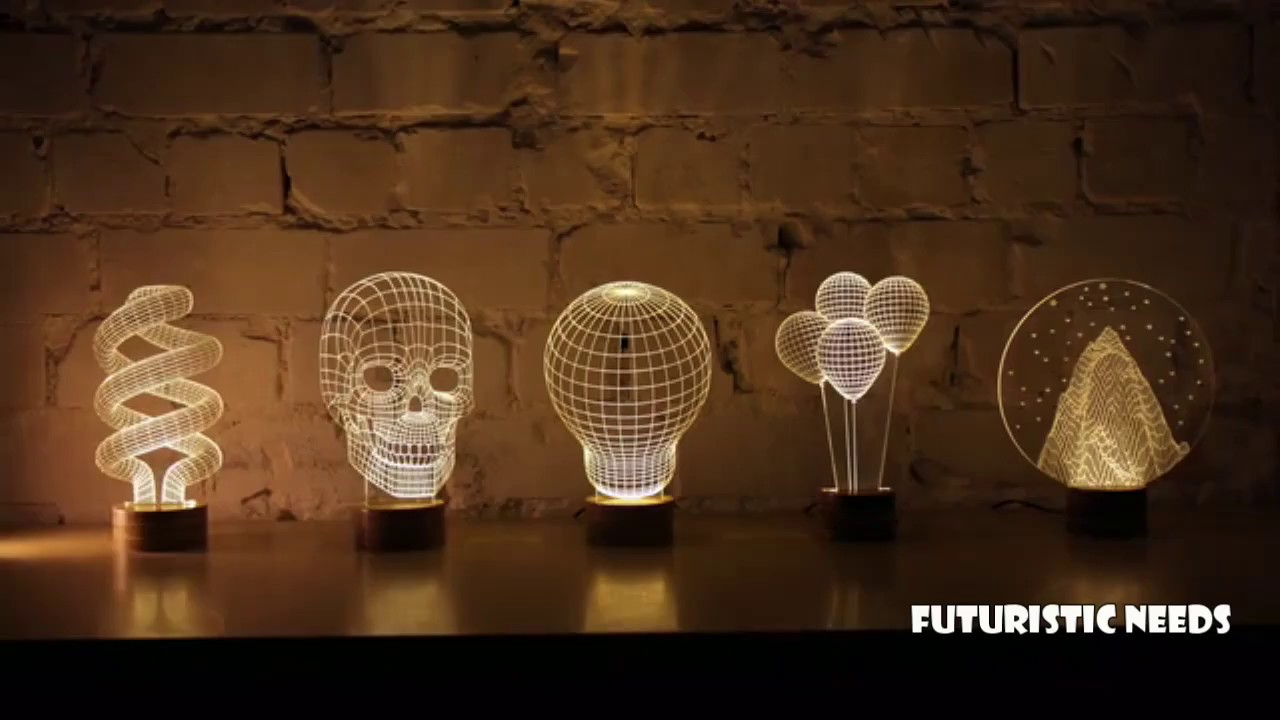 7 Futuristic Lamps You Must Have 2017 - YouTube