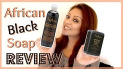 HOLY GRAIL for Body Acne!!! │ Shea Moisture African Black Soap and Body Wash Review