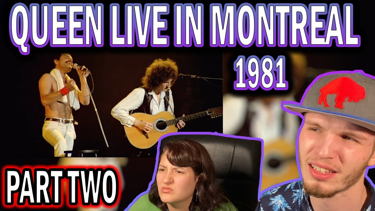 QUEEN LIVE IN MONTREAL 1981 PART TWO (COUPLE REACTION!)