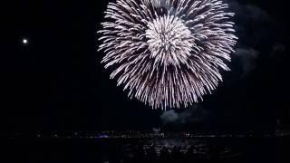 Feuerwerk 2016 Konstanz Eröffnung in 4k