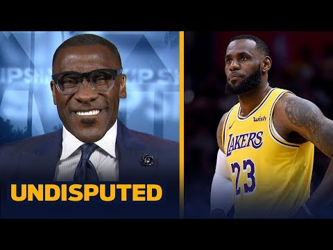 Shannon Sharpe grades LeBron's performance in his 1st game back with the Lakers | NBA | UNDISPUTED