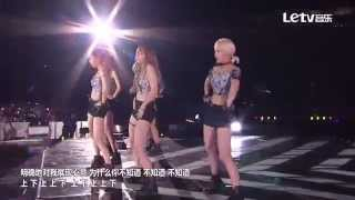 EXID - Ah Yeah (Remix) + Up & Down @ Letv 2015 Dream Concert Chinese Lyric Subtitle