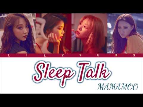 [ROM/KAN/ENG] Mamamoo - Sleep Talk (Japanese Single)