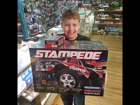 Kids Shopping For Rc Truck And The Hobby Shop!!