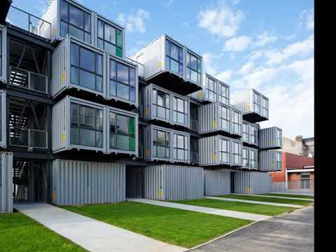 Shipping container apartments downtown phoenix - YouTube