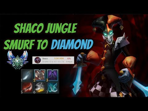 Shaco Smurf to Diamond [League of Legends] Full Gameplay - Infernal Shaco thumbnail