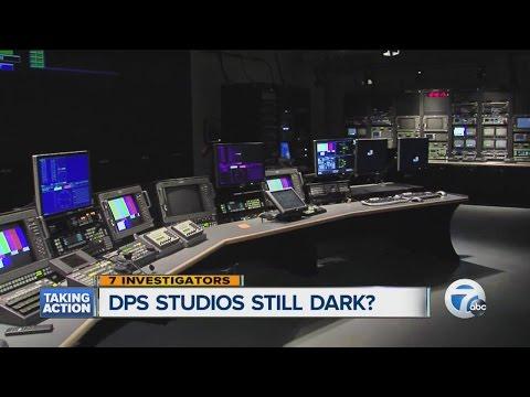 Is a Detroit Public School TV studio still dark?