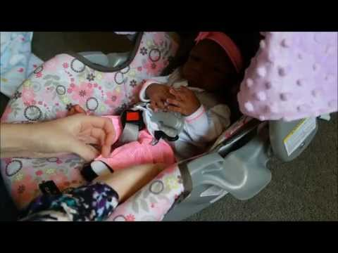 Nyah's First Day Home! Silicone Baby Day in the Life!