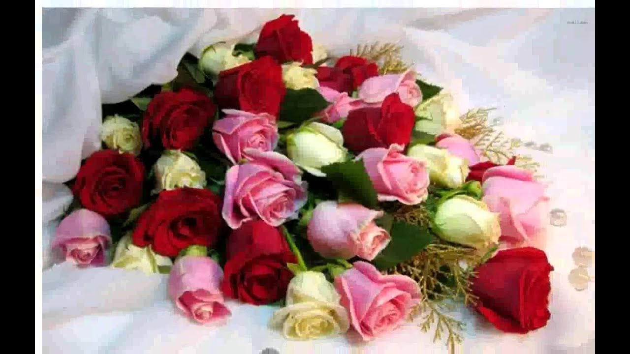 Flower bouquet youtube izmirmasajfo Image collections
