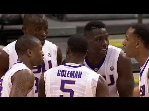 LSU Basketball: 2013-14 Season Highlight Video