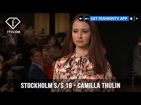 Camilla Thulin Stockholm Spring/Summer 2019 Vivd and Colorful Collection | FashionTV | FTV