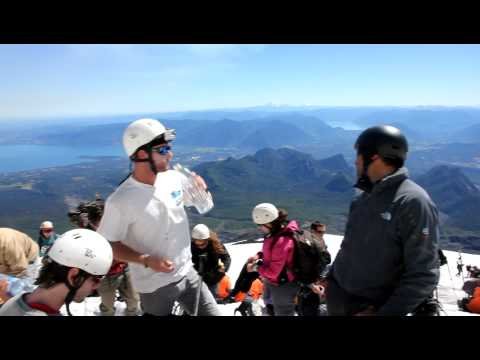 Pucon, Chili - Villarrica volcano view
