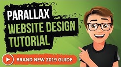 Parallax Website Design Tutorial (2019) Guide