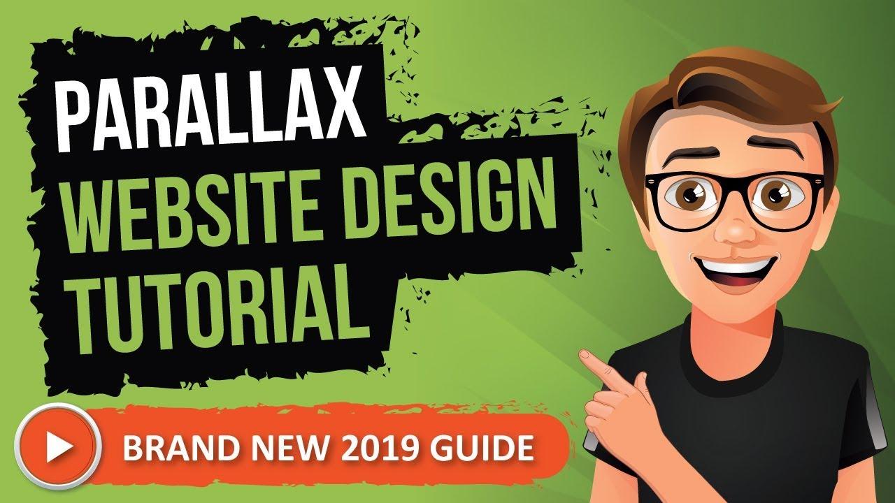 Parallax Website Design Tutorial 2019 [Made Easy]