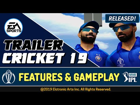 EA Sports Cricket 2019 Trailer+Gameplay | Planet Cricket 19 Patch For EA Sports Cricket 07