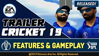 Ea Sports Cricket 2019 Trailer + HD Gameplay | Planet Cricket 19 Patch Released for Cricket 07