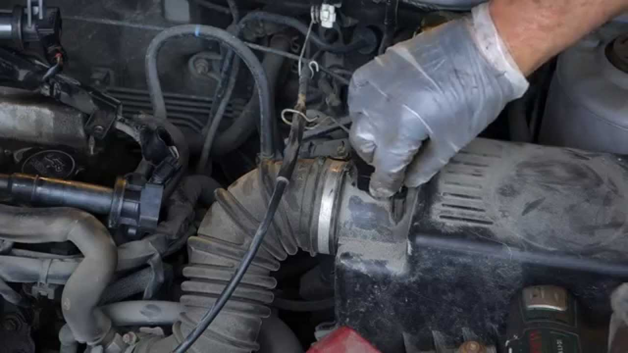 How To Clean And Service Maf Air Flow Sensor Vvt I Toyota