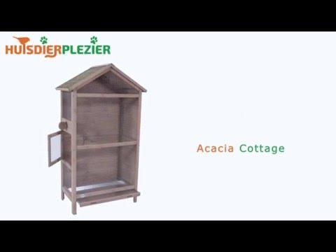Huisdierplezier.nl | Volière Acacia Cottage | Volière bouwen