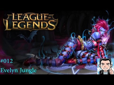 Let´s Play League of Legends [HD] [PC] #012 - Evelyn Jungle SoloQ