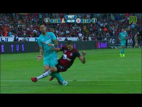 Resumen | Atlas 1 - 3 Cruz Azul | Liga MX - Apertura 2019  - Jornada 5 |