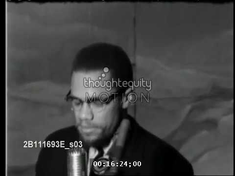 Malcolm X Exposes Nation of Islam PACT with the KKK