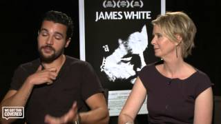 Exclusive Interview: Christopher Abbott and Cynthia Nixon Talk James White [HD]