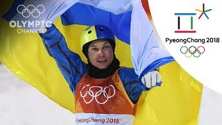 Oleksandr Abramenko wins Aerials freestyle skiing gold | Day 9 | Winter Olympics 2018 | PyeongChang