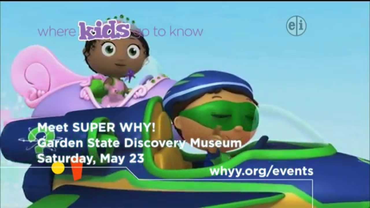Super why at garden state discovery museum whyy youtube for Watch garden state online free