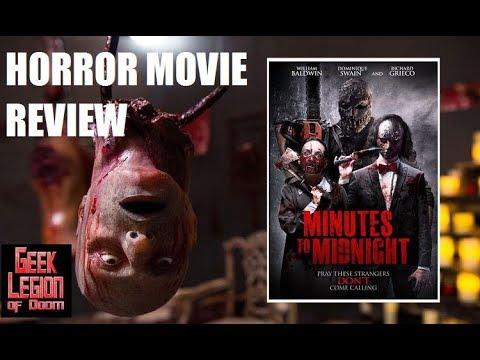 MINUTES TO MIDNIGHT ( 2018 William Baldwin ) Slasher Horror Movie Review