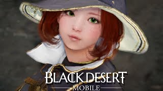Black Desert Mobile Ogre Boss Battle and Selfie Camera Mode With Emotes