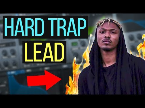 "HOW TO MAKE ""SAYMYNAME"" HARD TRAP LEADS IN SERUM TUTORIAL (Free Preset)"