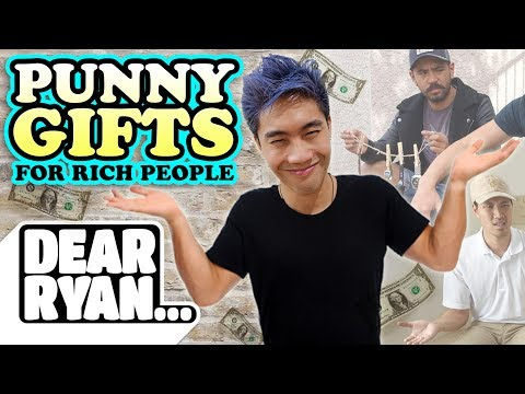Thumbnail: Punny Gifts for Rich People! (Dear Ryan)