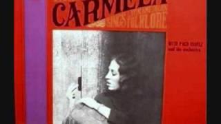 """AMOR DE MIS AMORES \""""La Foule"""" \ Que nadie sepa mi sufrir (Peru) - Carmela with Paco Ibañez"""
