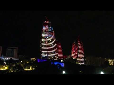 Baku night ⑩ 263 in Azerbaijan 2015
