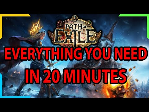 Path Of Exile NEW PLAYER GUIDE (2020-2021)