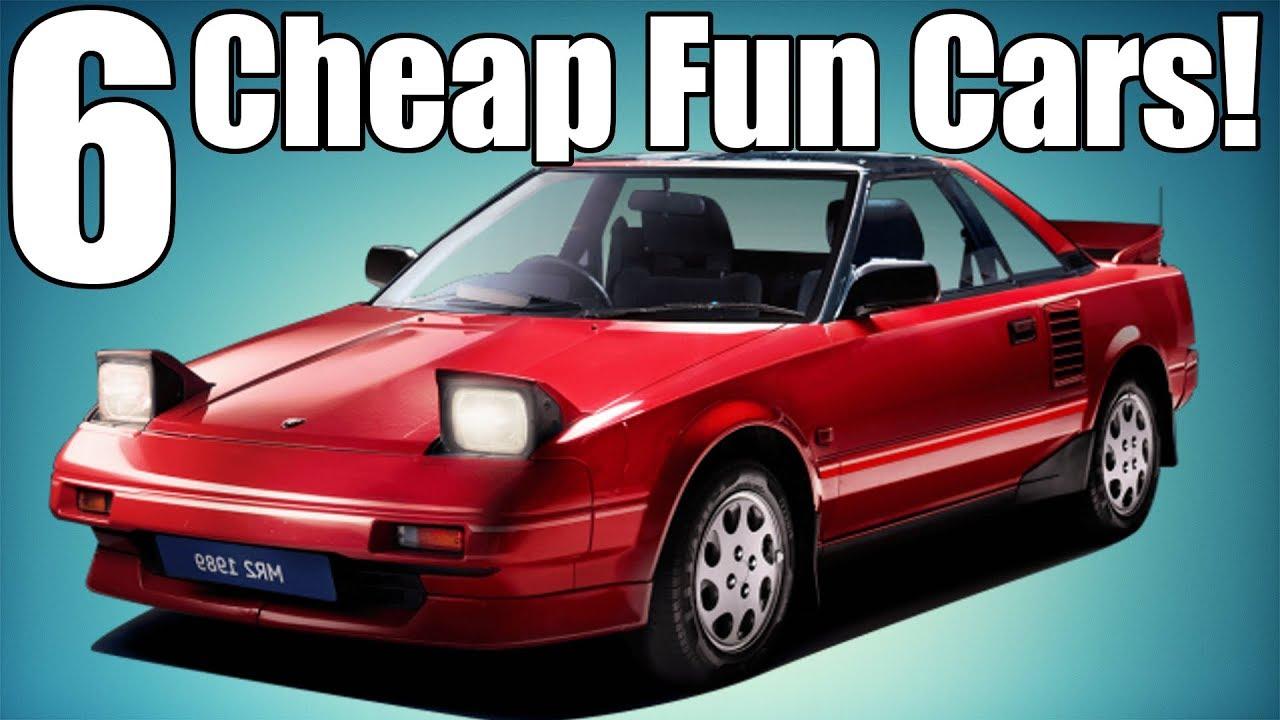 Cheap Fun Cars >> 6 Fun Cars On A Cheap Budget! - YouTube