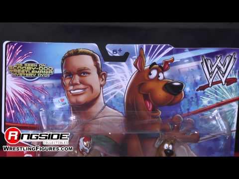 WWE FIGURE INSIDER: Scooby Doo & Sin Cara - WWE Figure 2-Pack Toy Wrestling Action Figures