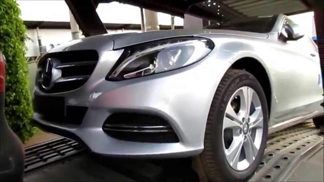 MercedesBenz C180 2015  wwwcarblogbr  YouTube