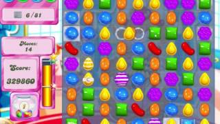Candy Crush Saga Level 472 Clear all the Jelly!