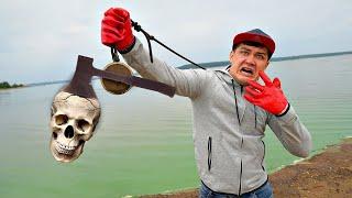 Эту жуткую находку мы подняли на магнитной рыбалке, где произошло убийство!