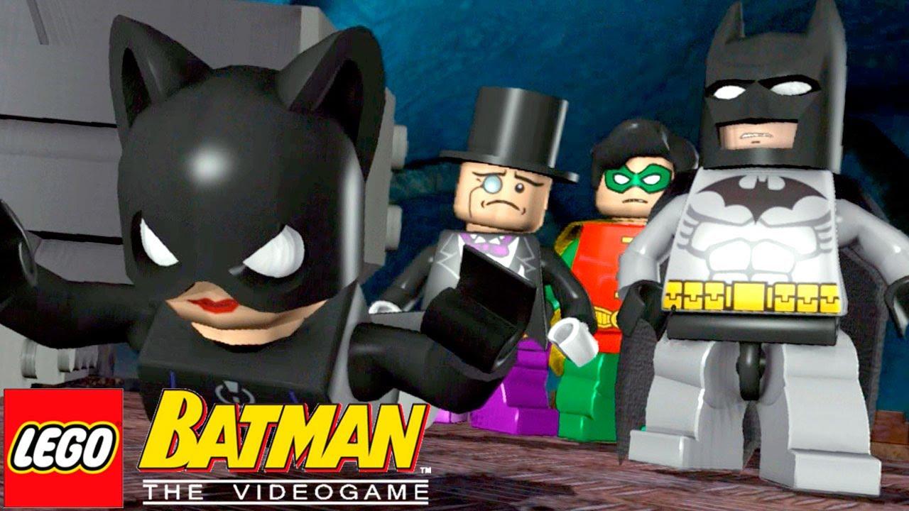 Lampada Lego Batman : Pinguim e mulher gato juntos lego batman the videogame #10 youtube