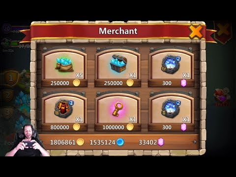 JT's Free 2 Play Amazing Merchant Lost Realm INSANE 5-5 Castle Clash