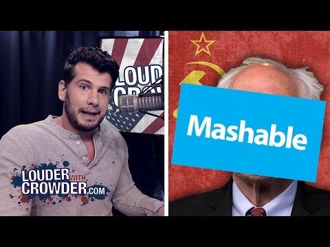 "Mashable BANS Anti-Socialism Crowder Video. ""Fair Use"" Abuse"