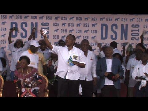 Presidential election campaign kicks off in Congo